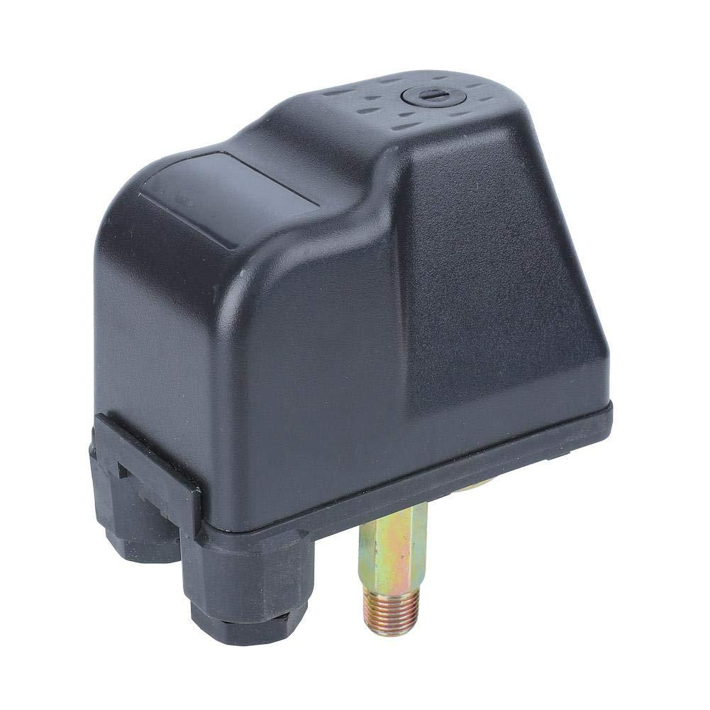 """G1/4""""圧力スイッチ、AC250V/16A平行棒ダブルスプリング圧力制御スイッチレギュレータ、ジェットポンプ、自動ポンプ、圧力ポンプ用"""