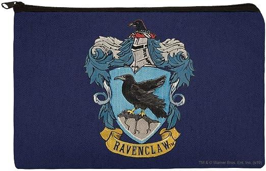 Harry Potter Ravenclaw - Bolsa organizadora de maquillaje con escudo pintado
