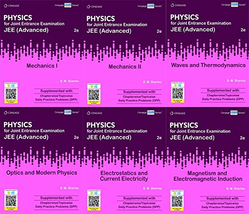 Cengage Physics Set Of 6 Books For Jee Advanced Amazon In B M