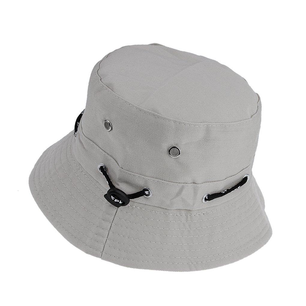 Fakeface, cappello a tesa stretta, modellabile, in cotone, per la spiaggia, adatto a tutte le stagioni