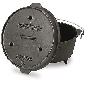 Camp Chef Deluxe 9 1/3-Quart Dutch Oven