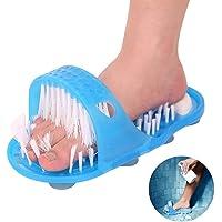 Bulary Bad Fußmassagegeräte Hausschuhe Die Original Dusche Sandale Fuß Scrubber Fußbürste Scrubber Massagegerät Unterlegscheiben Fuß Reinigung Borsten Slipper