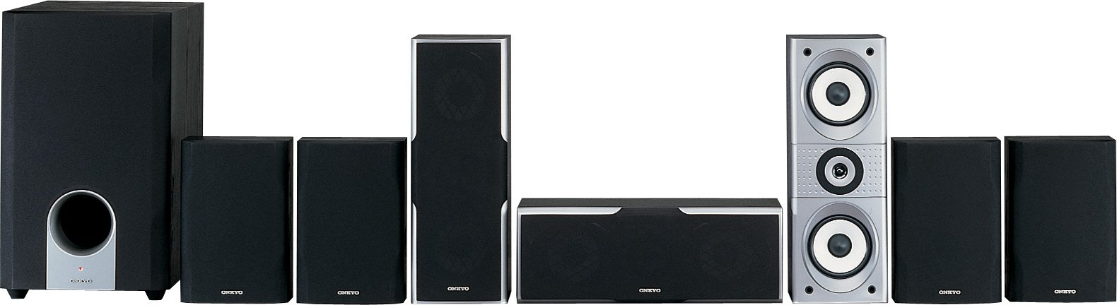 Onkyo SKS-HT540 7.1 Channel Home Theater Speaker System by Onkyo