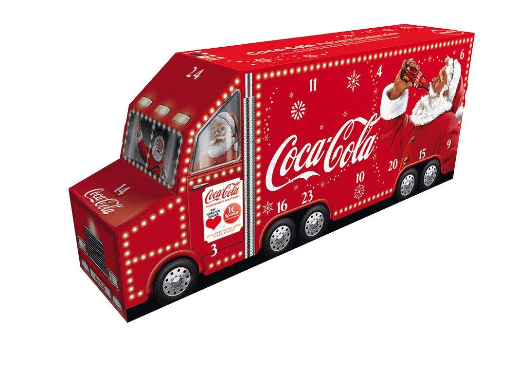 adventskalender coca cola truck 2019