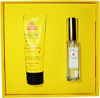 product image for The Naked Bee Pomegranate And Honey Perfume And Hand And Body Lotion Gift Set