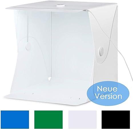 amzdeal – Carpa de luz para estudio fotográfico, 40 × 40 cm, caja ...
