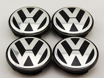 5ee39e7a6 Amazon.com  AOWIFT 4 pcs 65mm Wheel Center Cap Hub Cover for VW Volkswagen  Golf GTI PASSAT JETTA  Automotive