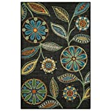 Maples Rugs Kitchen Rug - Reggie Artwork Collection 2.5 x 4 Non Skid Small Accent Throw Rugs [Made in USA] for Entryway and Bedroom, 2'6 x 3'10