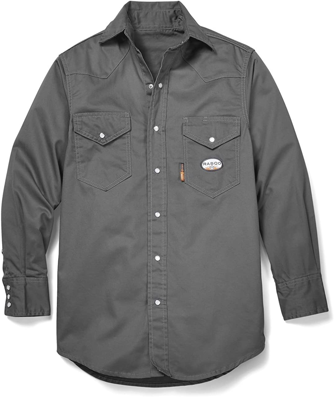 Rasco FR Gray Lightweight Work Shirt
