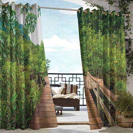 Andrea Sam Vorhang für drinnen und draußen ...
