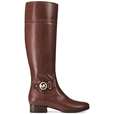 17a10fe5b Image Unavailable. Image not available for. Color: Michael Kors Harland  Riding Boot ...
