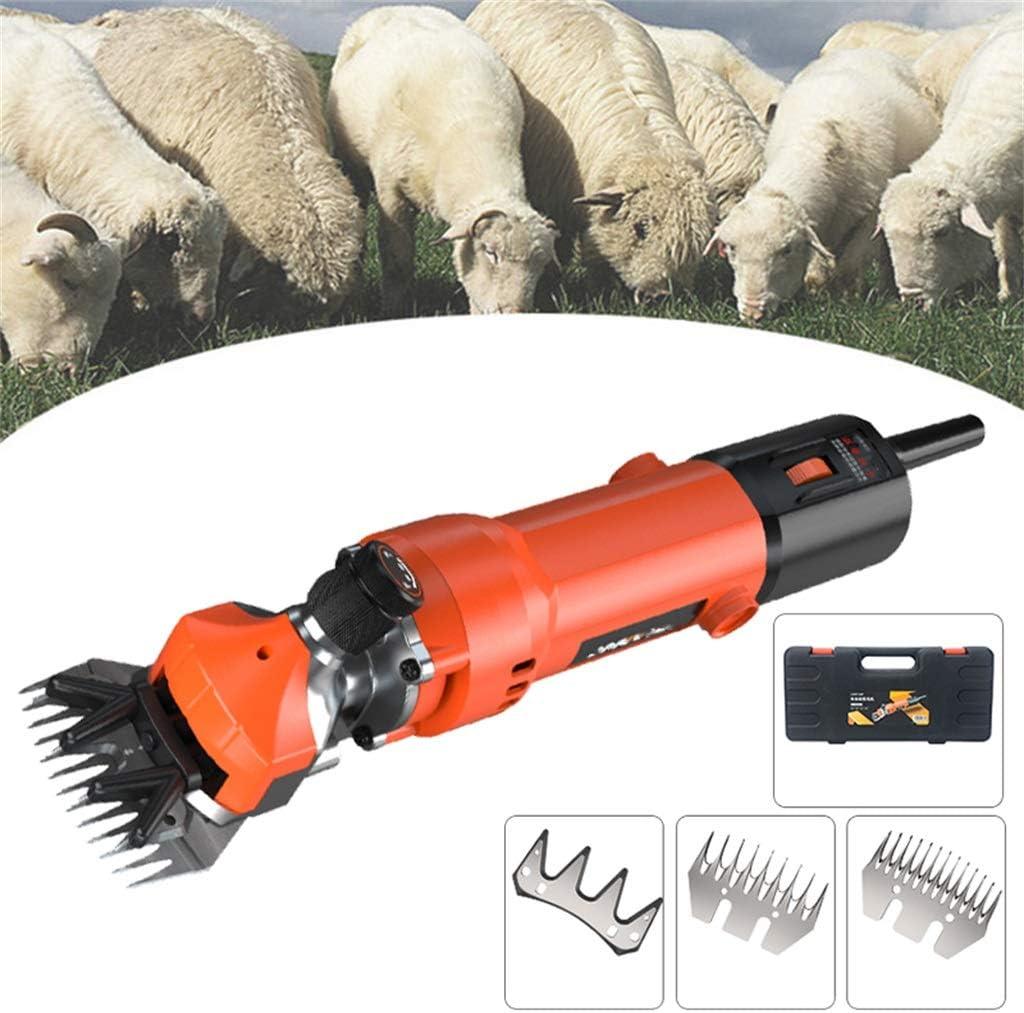 多機能の電気ヤギは動物の毛の手入れをする毛機械を切りますはさみはさみのはさみを切ります6速度750Wの専門の頑丈な電気せん断のバリカン