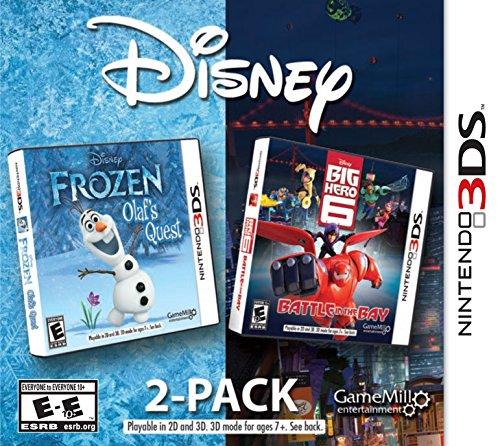 Disney Frozen & Big Hero 6 2 Pack - Nintendo 3DS (Big Game Hero Video)