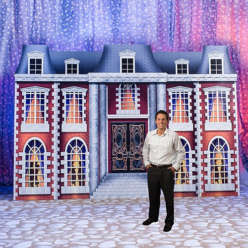 Gatsby Mansion Standee Party Decoration