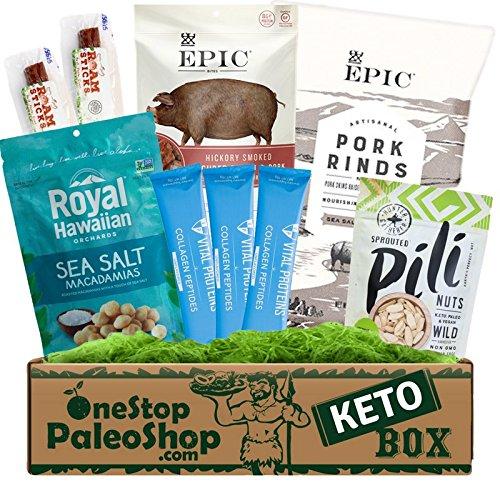 - OneStopPaleoShop - Keto Snacks Box - Epic, Vital Proteins, Pili Nuts, and MORE!