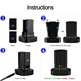 Cosaux FM25 Dual Charging Station for Xbox 360
