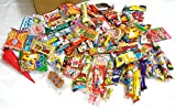 Assorted Japanese Junk Food Snack ''Dagashi'' Boxful of 95 Packs of 55 Types