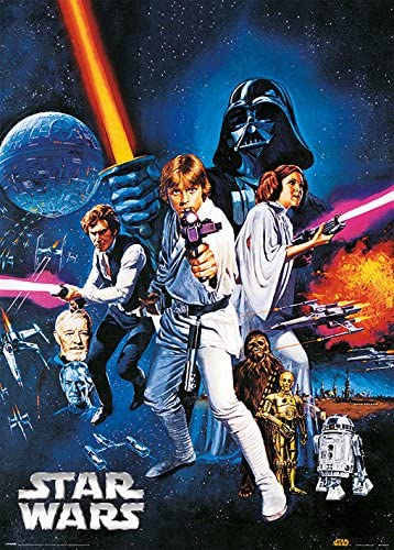 Amazon Com Star Wars Episode Iv A New Hope Special Edition Metallic Poster Print Style C Size 20 Inches X 28 Inches Posters Prints