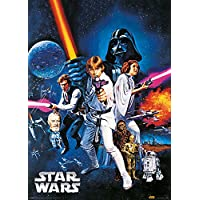 Metalik Poster Star Wars A New Hope