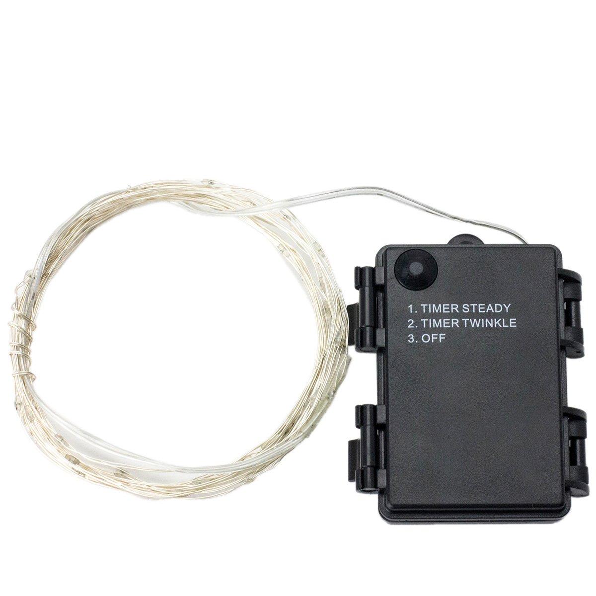 DUMVOIN Cadena Cuerda Luz Flexible m Ft con LEDs de Alambre de