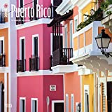 Puerto Rico 2018 12 x 12 Inch Monthly Square Wall Calendar, Scenic Travel Caribbean Islands