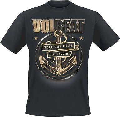 Volbeat Anchor Infantil de Camiseta Negro