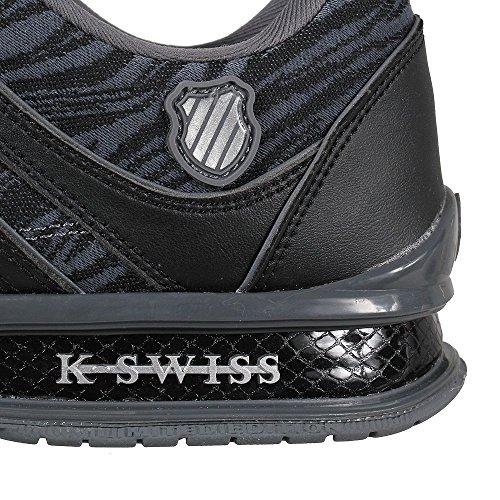 discount looking for K-Swiss Men's Rinzler Trainer Low-Top Sneakers Castle Grey/Black sale buy cheap online sale get to buy comfortable tQZJWCtrm9