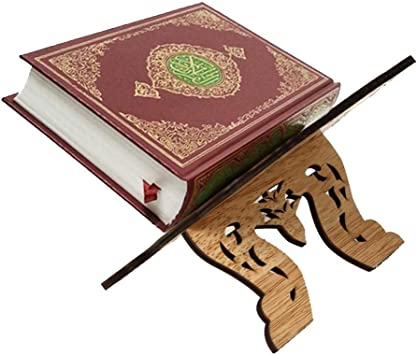 Koranhalter B/ücherregal Heiliger Koran Quran Holy Book Holder Islam Dekoration Buch Halterung