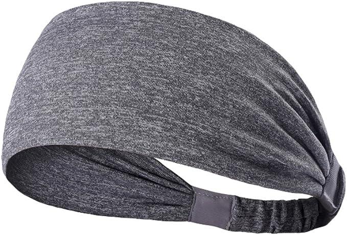 Tookang Unisexe Bande de Cheveux Absorbant la Transpiration et S/échage Rapide Bandeaux avec /Évacuation de lHumidit/é Bande de T/ête Bandeau de Sport