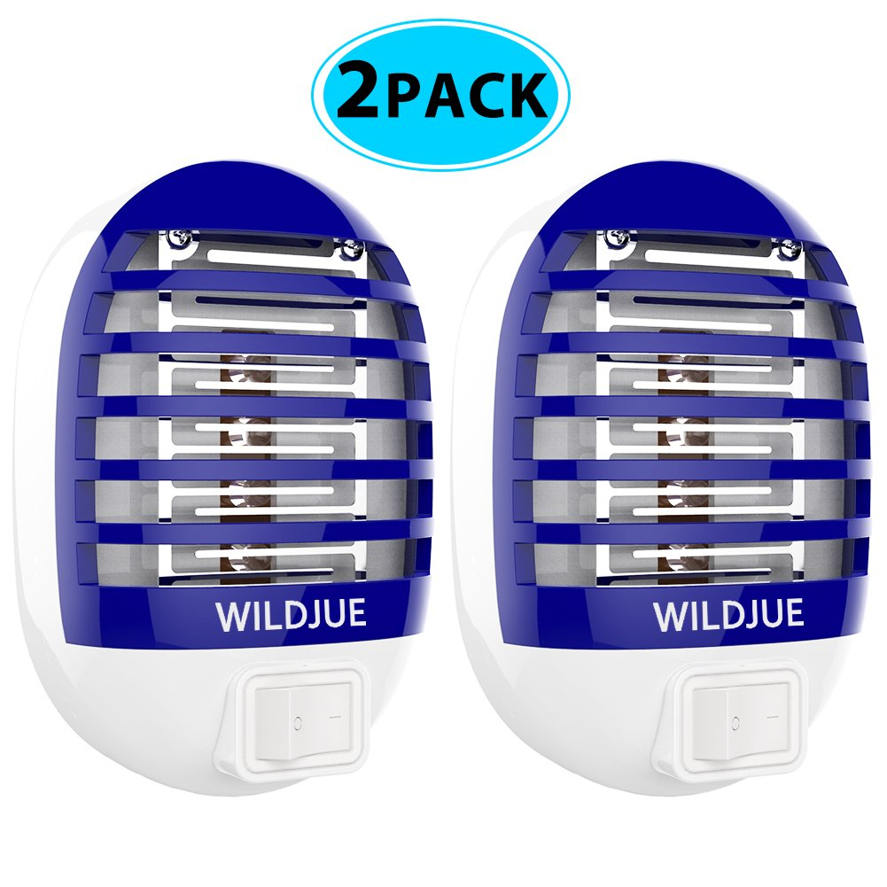 WILDJUE Bug Zapper, Insect Killer/Mosquito Killer Lamp,Eliminates Most Flying Pests Safe and portable