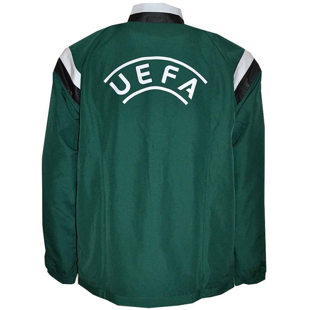 Adidas Performance - Fußball-Trainingsanzug, Ref UEFA Prensation Suit  G90432, uni, grün, XL: Amazon.de: Sport & Freizeit
