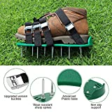 TONBUX Law Aerator Sandals Yard Spike Shoes with