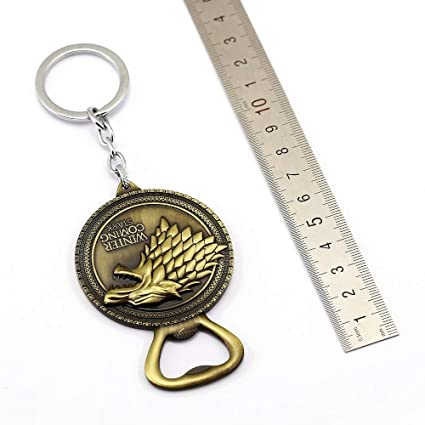 Amazon.com : Game of Throne Keychain Bottle Opener Key Chain ...