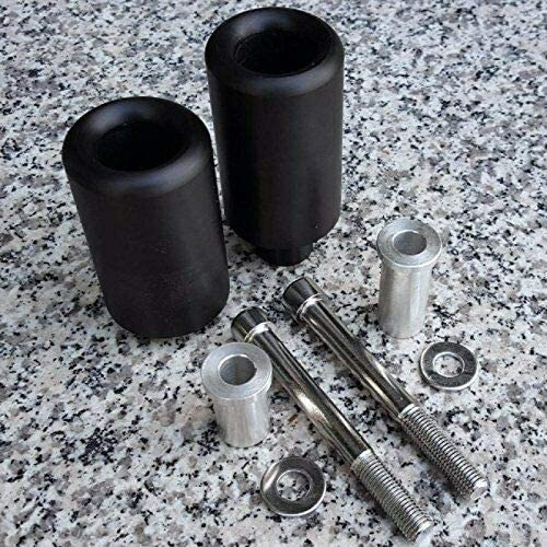 i5 BLACK NO-CUT FRAME SLIDERS for Honda CBR900 CBR 900RR 900 RR CBR900RR 1993-1999
