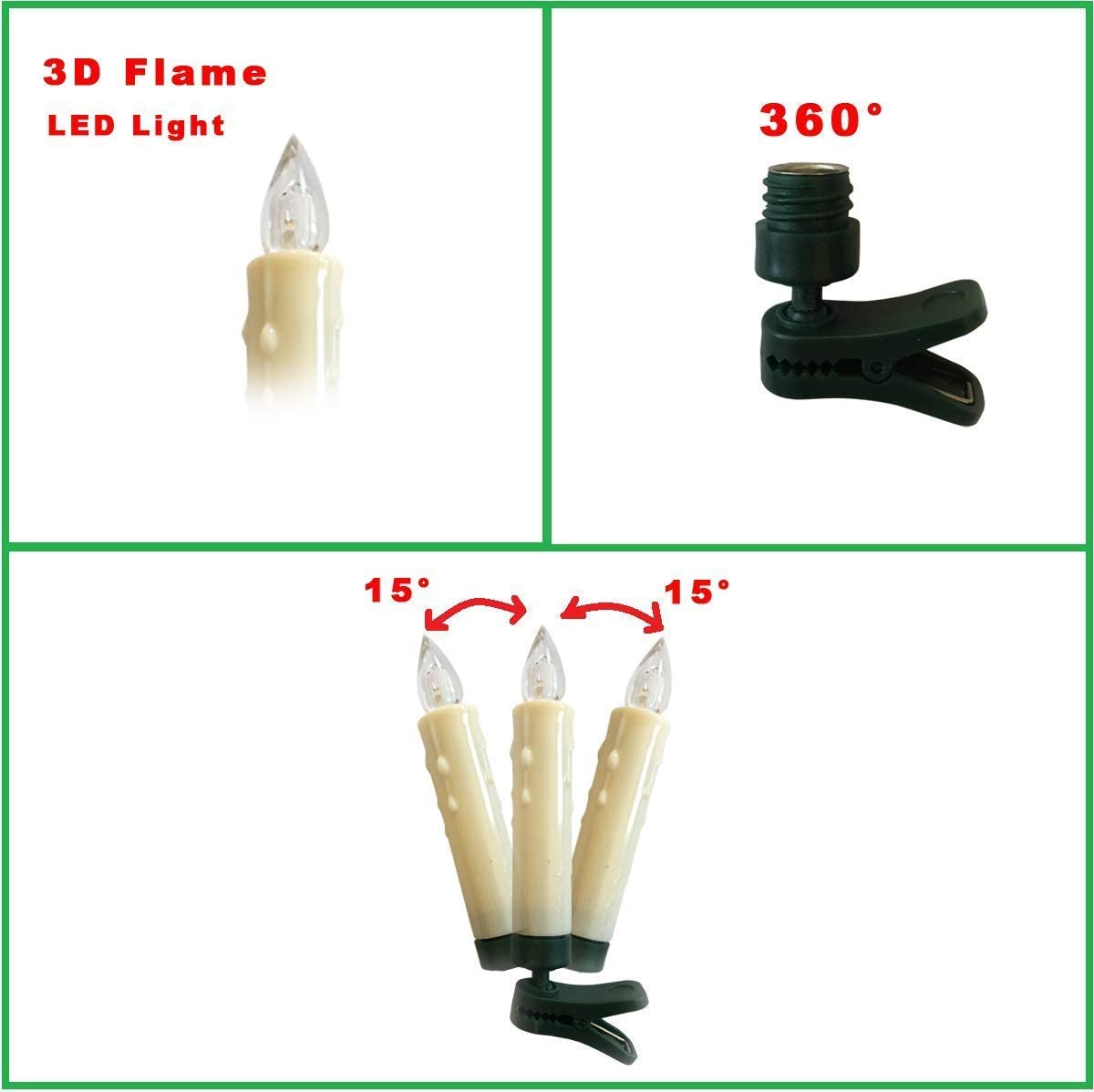 CW3 10x 1.2 V 0.24 W Colorées Ampoules//Lampes Arbre de Noel 200 Christmas Fairy Lights