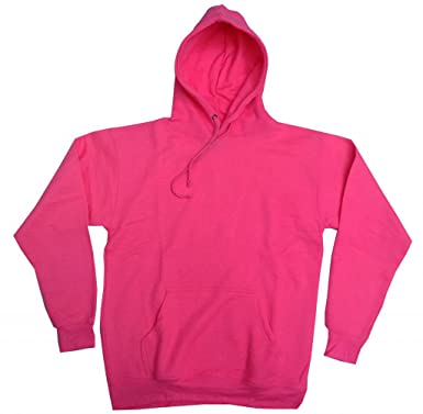 Buy Cool Shirts Mens Hoody Pullover Neon Pink Hoodie at Amazon ...