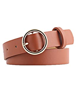 Leisial - Cinturón - para mujer marrón marrón claro