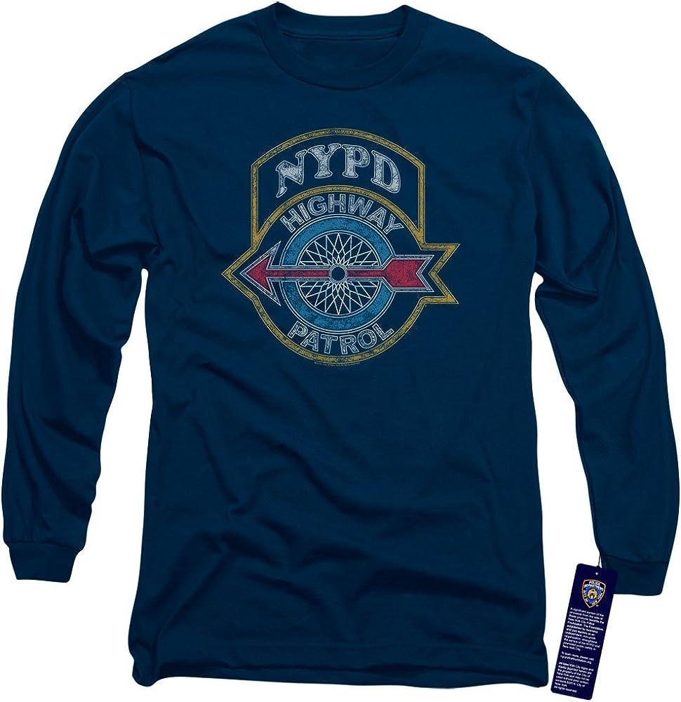 NYPD Hoodie Highway Patrol Navy Hoody