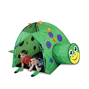 Dinosaur Play Tent and Tunnel- Indoor/Outdoor Collapsible Play Tent  sc 1 st  Amazon.com & Amazon.com: Dinosaur Play Tent and Tunnel- Indoor/Outdoor ...