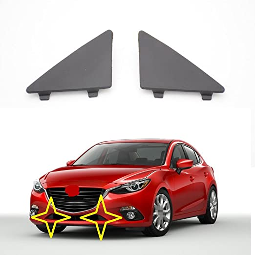 2014-2018 Mazda 3 Front Lower Bumper Cover Support; Mexico And Japan Built; Without I-Loop Braking System; Made Of Pp Plastic Partslink MA1041100