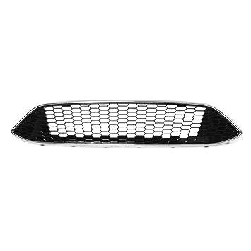 Casavidas para Ford Focus MK3 ZETEC S Sport Honeycomb Malla Parachoques delantero Parrilla central Panel