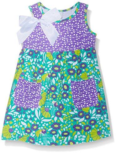 Flap Happy Baby Girls' Simone Secret Pocket Dress, Garden Fairies, 12m (Garden Fairy Dress)