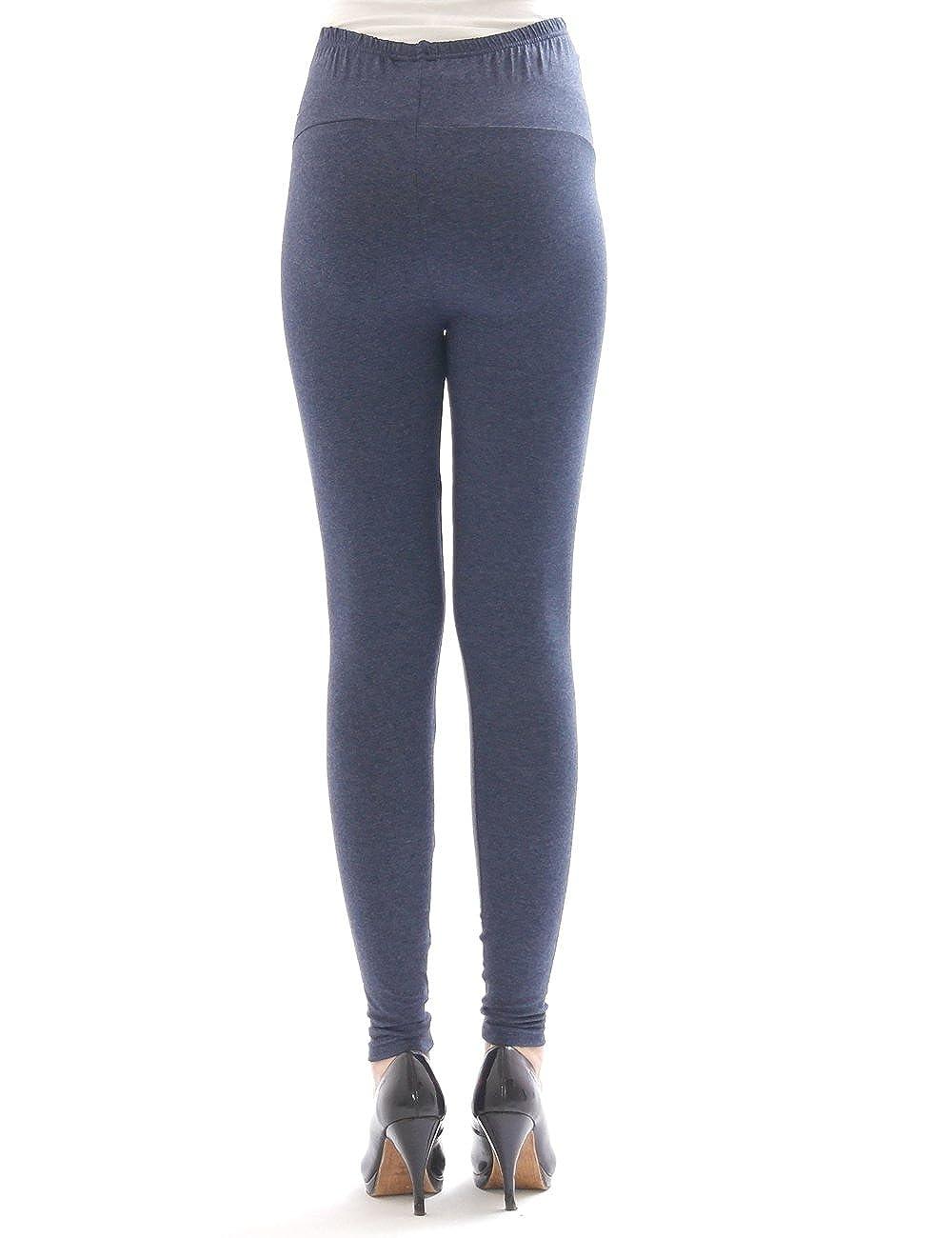 yeset Umstand Hose Umstandsleggings Leggings lang aus Baumwolle