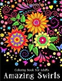 Adult Coloring Book Stress Relieving Patterns Blue Star