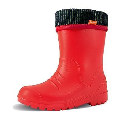 Demar - Bottes Rouges Rouge Enfant Kiq6pCO65w