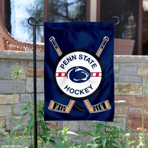 Penn State Hockey Garden Flag and Yard Banner