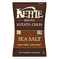 Kettle Chips, Sea Salt, 141g