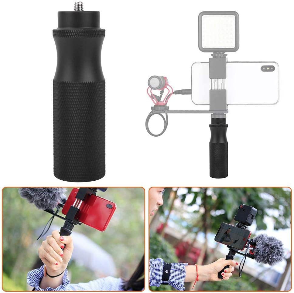 Vbestlife Camera Universal Handle Anti-Slip Surface Universal Hot Shoe Camera Extension stabilizer Top Handle 1//4 Screw Handle to Connect Other Products