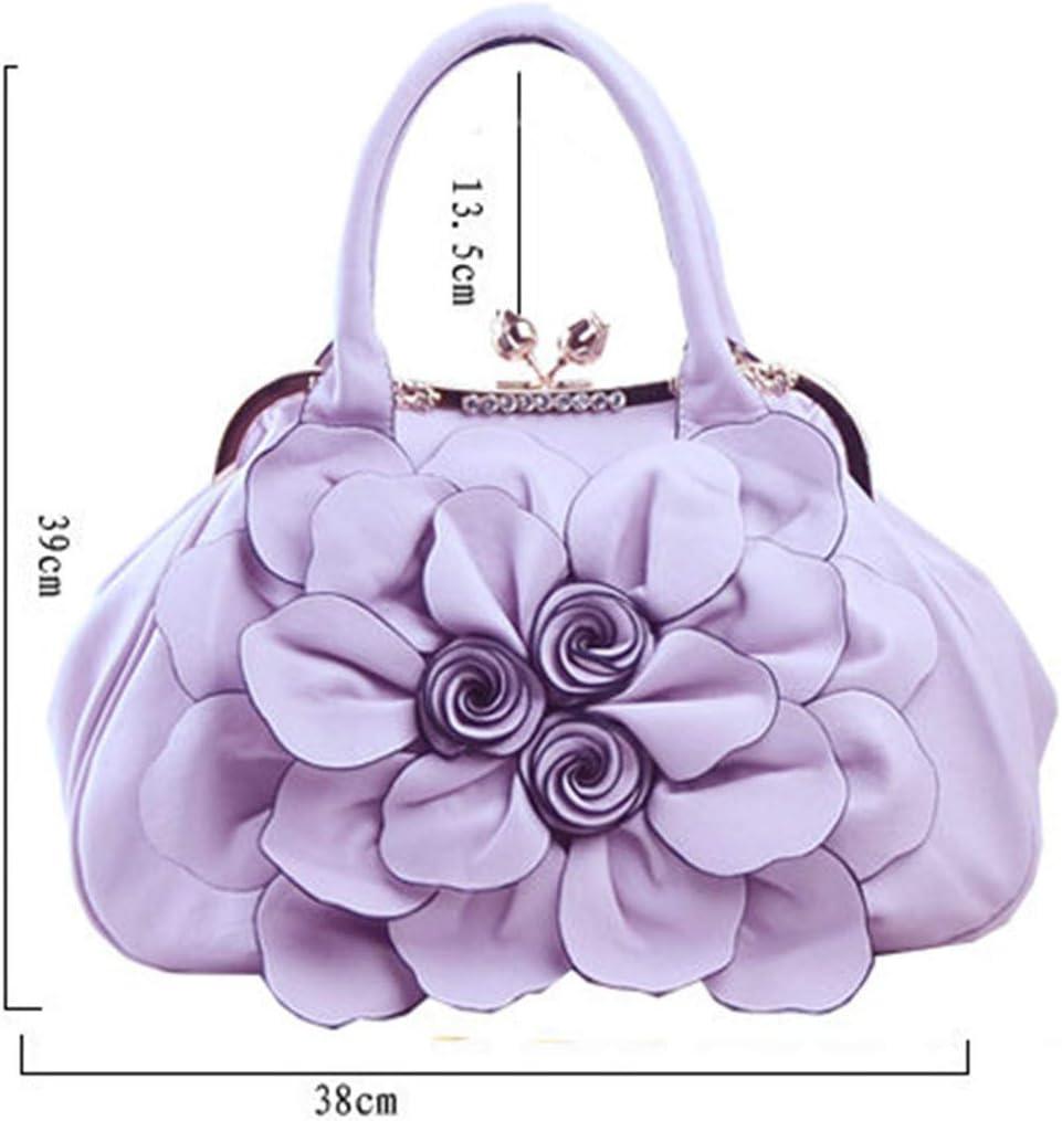 WFKV.T, Damen Henkeltasche, violett (Violett) - TB257865 Weiß