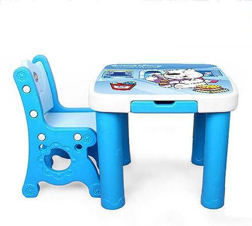 Tavoli E Sedie In Plastica Per Bambini.Brisk Set Da Tavolo E Sedie Per Bambini Asilo Scrivania Di